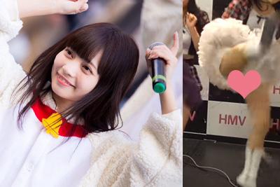 【アイドル パンチラ】可愛さは全国レベル!北海道のご当地アイドルが前蹴りキックでパンツはみ出すww 問題のシーン8:00