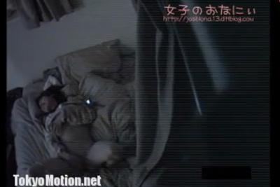《民家盗撮》妹の部屋から変な声が聞こえてくるから隠しカメラを仕掛けた結果ww