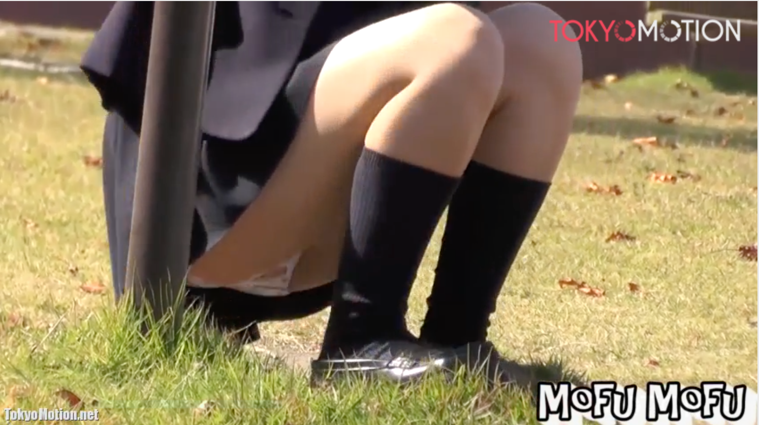 【盗撮】平和な放課後に公園で楽しそうに遊ぶ天使のような女子高生の汚れなきパンツを激写!